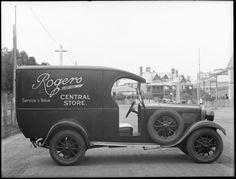 Delivery van for Rogers Ltd Central Store, Katanning, 1929 Wa Gov, Antique Cars, Delivery, Antiques, Pictures, Vintage Cars, Antiquities, Photos, Antique