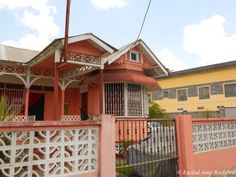 House in Cunupia Trinidad, photographed by Rachel Amy Rochford