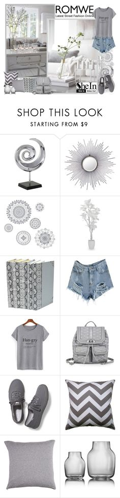 """Romwe & SheIn - Contest!"" by asia-12 ❤ liked on Polyvore featuring WallPops, Rebecca Minkoff, Keds and Rani Arabella"