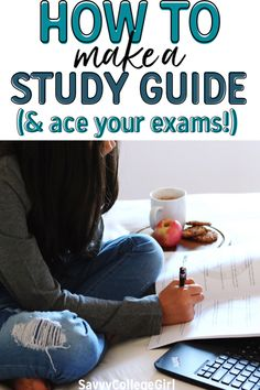 how to make a study guide and ace your exams ★·.·´¯`·.·★ follow @motivation2study for daily inspiration