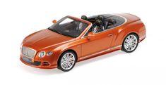 Bentley Continental GT Speed Convertible Orange Minichamps 107139430