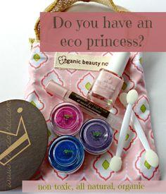 Eco Princess Organics play makeup for kids. non-toxic, all-natural, and organic.