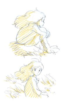 Sketches, studio ghibli