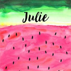 Geboortekaartje JippieJippie waterverf meisje 337 Names, Lettering, Outdoor Decor, Drawing Letters, Brush Lettering