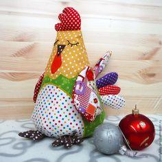 Шьем игрушку петушок «Горошек» - Ярмарка Мастеров - ручная работа, handmade