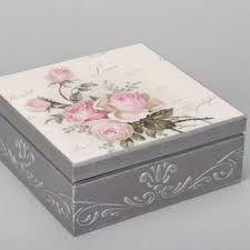 κουτι με στενσιλ και ντεκουπαζ