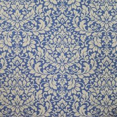 Carlotti Cobalt 100% cotton 140cm |64cm Curtaining