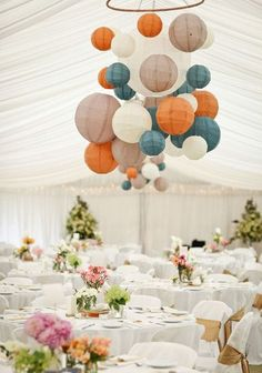 50 Paper Lantern Ideas For Your Wedding   HappyWedd.com