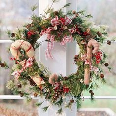 Charming Country Christmas Wreaths holidays