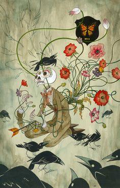 Julian Callos,Death, Or A Murder Of Crows.