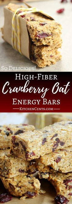 High Fiber Cranberry Oat Energy Bars – the best high fiber recipe. These granola bars are like candy bars with healthy benefits. Enjoy this granola recipe as energy bars or energy bites. I used these bars to help increase my milk production. High Fiber Snacks, High Fiber Breakfast, High Fiber Foods, Chocolate Oatmeal Cookies, Oatmeal Cookie Recipes, High Fiber Bars Recipe, High Fiber Granola Bar Recipe, Fiber Bar Recipe, High Fiber Recipes