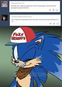 Sonic boom grandpa