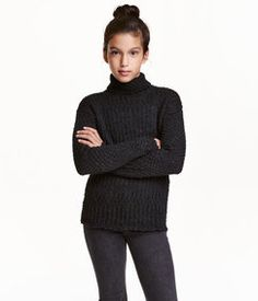 H&M Knit Turtleneck Sweater Found on my new favorite app Dote Shopping #DoteApp #Shopping