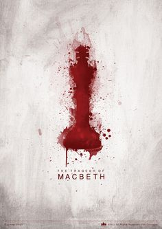 The Tragedy of Macbeth by Rupinder Singh Obviously this is a chess piece, but I'm not sure I'd go with it since it is so phallic. Book Cover Design, Book Design, Shakespeare Portrait, William Shakespeare, Macbeth Poster, The Tragedy Of Macbeth, Book Posters, Theatre Posters, Play Poster