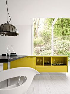 Kalea Kitchen Remodel Ideas and Guitar Slink by Italian Manufacturer Cesar