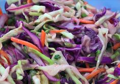 Spicy Chipotle Cole Slaw. Photo by MathMom.calif.  Made this the other night and LOVE it- although I will def put more chipotle chiles in next time....