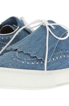 Robert Clergerie Tolka02Td (Denim) Women's Shoes - Robert Clergerie, Tolka02Td, TOLKA02TD, Footwear Closed General, Closed Footwear, Closed Footwear, Footwear, Shoes, Gift - Outfit Ideas And Street Style 2017