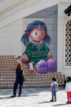 ❤️This street Art is sooooo Cute❤️