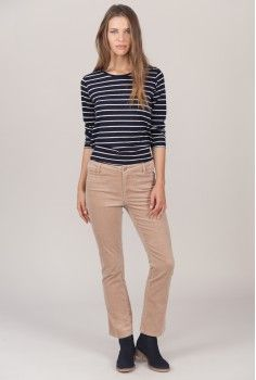 Pantalon Toothpick rose pâle