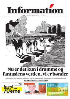 Dagbladet Information forside, 7. september 2016