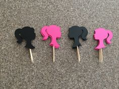 A personal favorite from my Etsy shop https://www.etsy.com/listing/491035201/barbie-party-barbie-cupcake-toppers