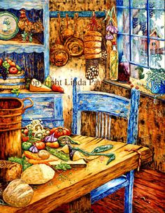 French country kitchens | ... Kitchen Decor on French Country Decorating Wall Decor For Your Kitchen