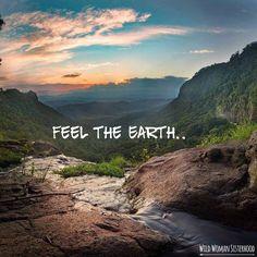 feel the earth..