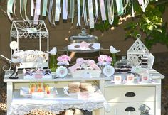 Hostess with the Mostess® - Shabby Chic Valentine's Party