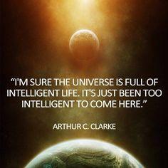 arthur c. clarke quotes - Google Search