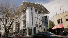 Seattle's Bullitt Center: Ready To Debut As World's Greenest Office Building Biomimicry Examples, Contemporary Philosophy, Green News, Rain Collection, Soil Layers, Rain Barrel, Fish Ponds, Futuristic Technology, Solar Panels