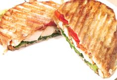 A delicious, chicken Panini, with roasted tomatoes, lettuce and a touch of excellence! Come try one today at Le Petit Café!