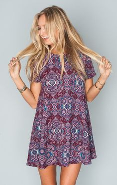 Boho Berry Me Dress ~Pinterest~ casssiiieee000