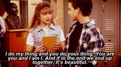 One of my favorite quotes from Boy Meets World