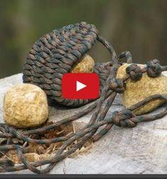 DIY How To Make a Paracord Rock Sling - survivalprepper-joe.com