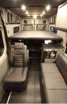 Trend You Need To Know Vanlife Interiors. Just because it is a Vanlife Interiors, doesn't indicate you can't have the decor you desire. Once you have decided on your van you will have to transform it into a campervan. Van Conversion Interior, Camper Van Conversion Diy, Van Interior, Transit Camper, Bus Camper, Camper Life, Vans, Mercedes Sprinter Camper, Luxury Van