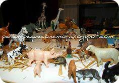 Clasificar los animales.   Actividades 2-3 años