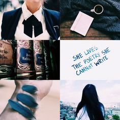 """Hp Aesthetic: Ravenclaw House  """"This is a clear example as to why I hate Snape. I can't even put on the same pair of shoes because I stayed up all night writing about some bloody nonsense of a creature."""""""