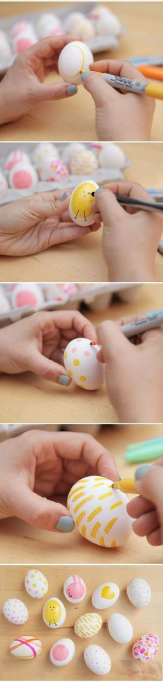 #painted #easter #eggs #diy
