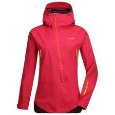 Womens Flow Jacket (Jazzy Pink/Burgundy Red)