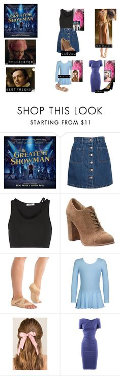 """Me in The Greatest Showman"" by lastamazonwarrior ❤ liked on Polyvore featuring Pull&Bear, Helmut Lang, Isolá, Danshuz, Francesca's, Talbot Runhof and Classified"