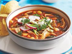 Ground guajillo chile powder found in Mexican markets is quite different from regular chili powder. This spicy chicken soup recipe is made simple with the pressure cooking power of your Instant Pot.