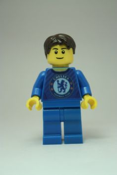 Chelsea Football Custom Minifigure. Ideal for any  by Tinkerbrick, £9.99