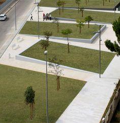 Giardino urbano al quartiere San Girolamo (Bari)