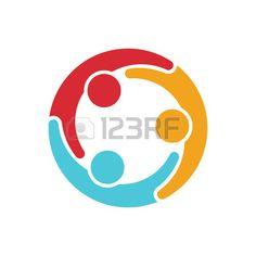 Social media network people Stock Vector - 47253278