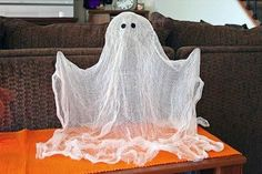 DIY Fantasmas decoración para halloween