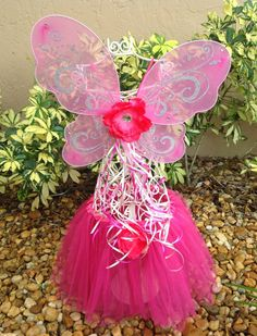 Pink Fairy Wings Fairy Wings Fairy Costume by partiesandfun