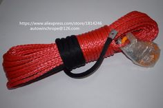 91.00$  Watch now - http://ali3co.worldwells.pw/go.php?t=32398061554 - free shipping 8mm*30m winch ropes,warn winch rope for offfroad parts,winch synthetic rope