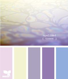 Seeds Design | Color Palette | Opal