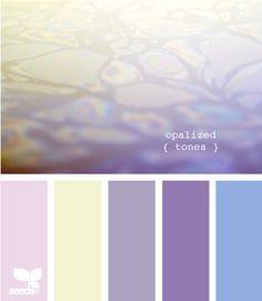 Seeds Design | Color Palette | Opal