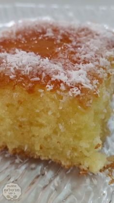 Coconut cake is light and tasty Coconut Pound Cakes, Yummy Drinks, Yummy Food, Tasty, Dessert Cake Recipes, Easy Desserts, Coffee Cake, No Bake Cake, Sweet Recipes